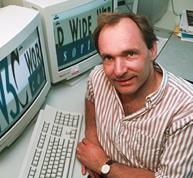 Tim Berners Lee è nato a Londra nel 1955. È l'inventore dell'HTML e nel 1989, quando lavorava al CERN, ha inventato il World Wide Web. Più di ogni altro ha combattuto per mantenerlo aperto, gratuito e non-proprietary.